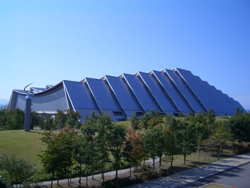 「エムウェーブ」長野市オリンピック記念アリーナ