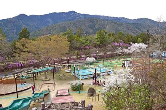 嵐山-高雄パークウエイ 観空台遊園地
