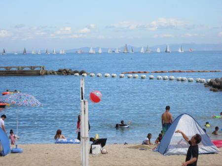 淡輪 ときめきビーチ