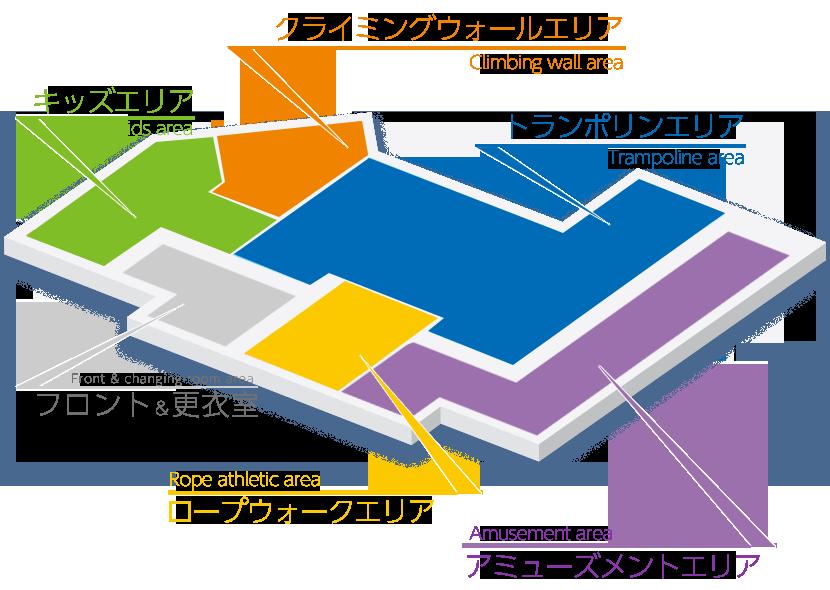 スペースアスレチック トンデミ イオンモール幕張新都心店