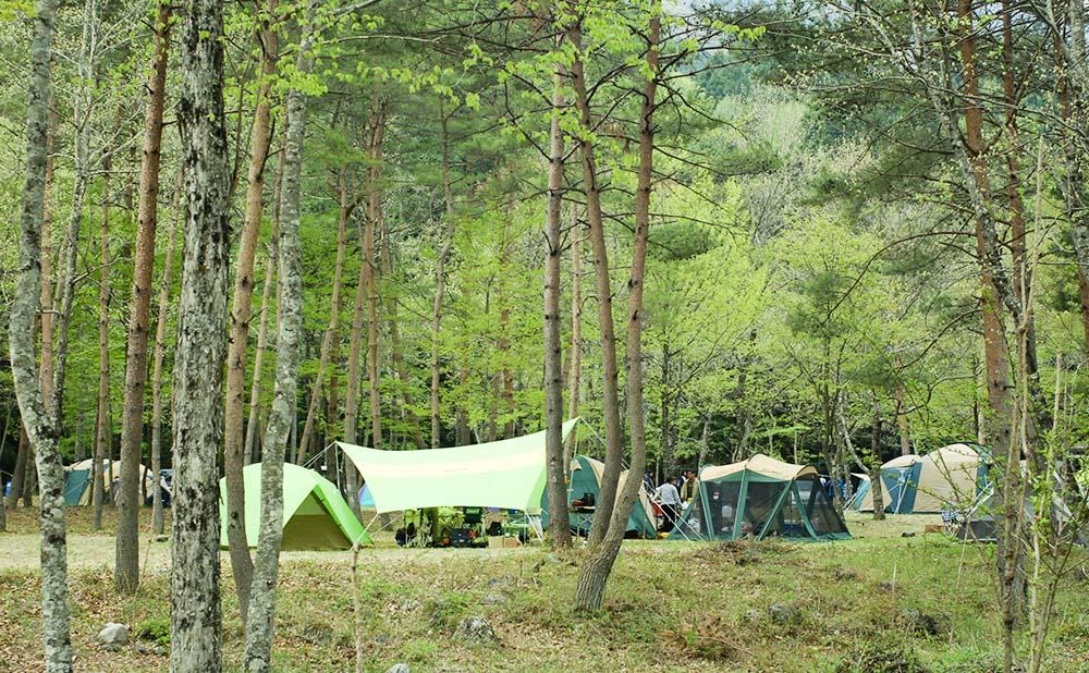 開運の里 上栗山オートキャンプ場